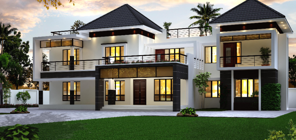 11+ Images of front view of beautiful modern houses ideas