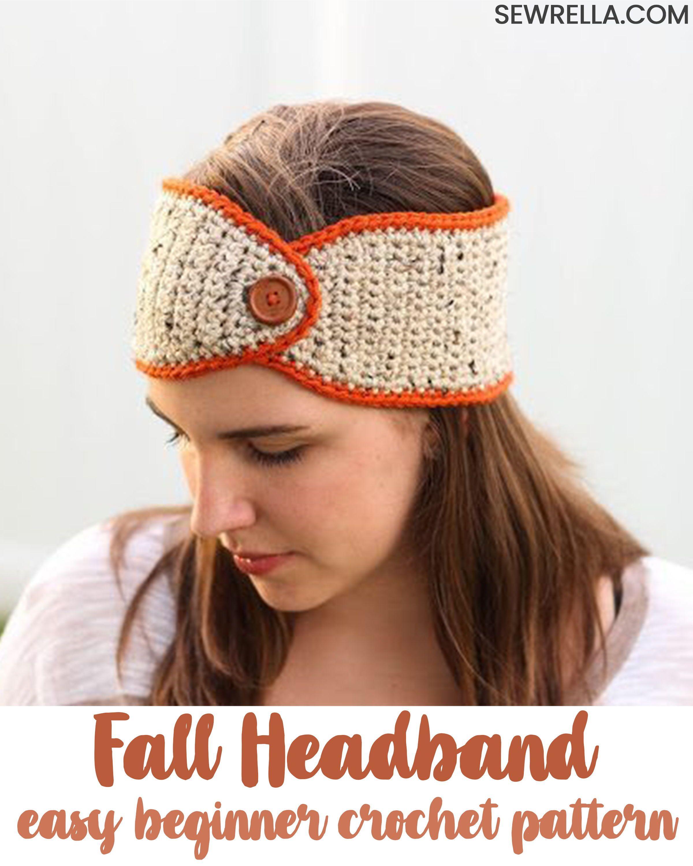 Crochet Pumpkin Spice Headband Crochet Crochet Crochet Patterns