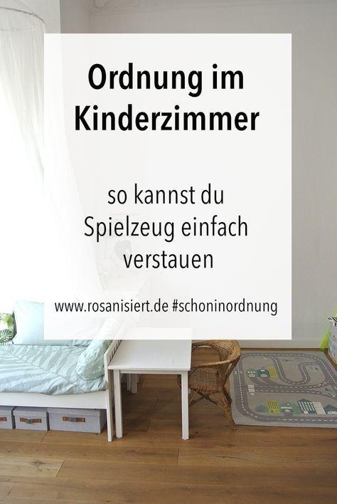 Anzeige: Eine Sammlung Von Vielen Ideen Für Mehr Ordnung Im Kinderzimmer.  So Kannst Du