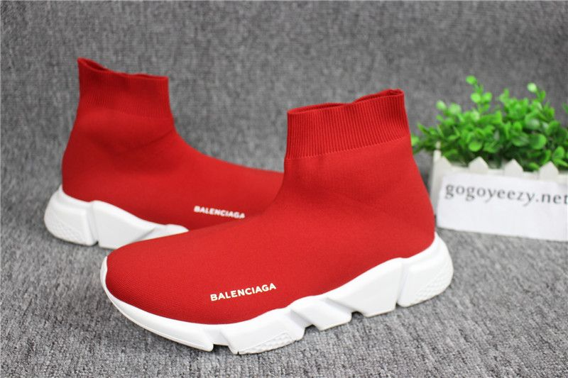 Balenciaga Speed Trainer Sock Race Runners Kint Red  c1b9c1a794