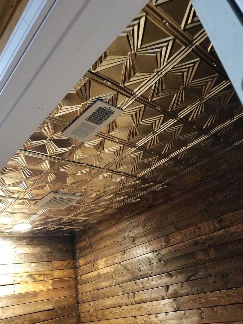 Shanko Tin Plated Steel Ceiling Tile