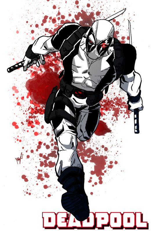 Deadpool X-Force Poster by GadrielX on DeviantArt