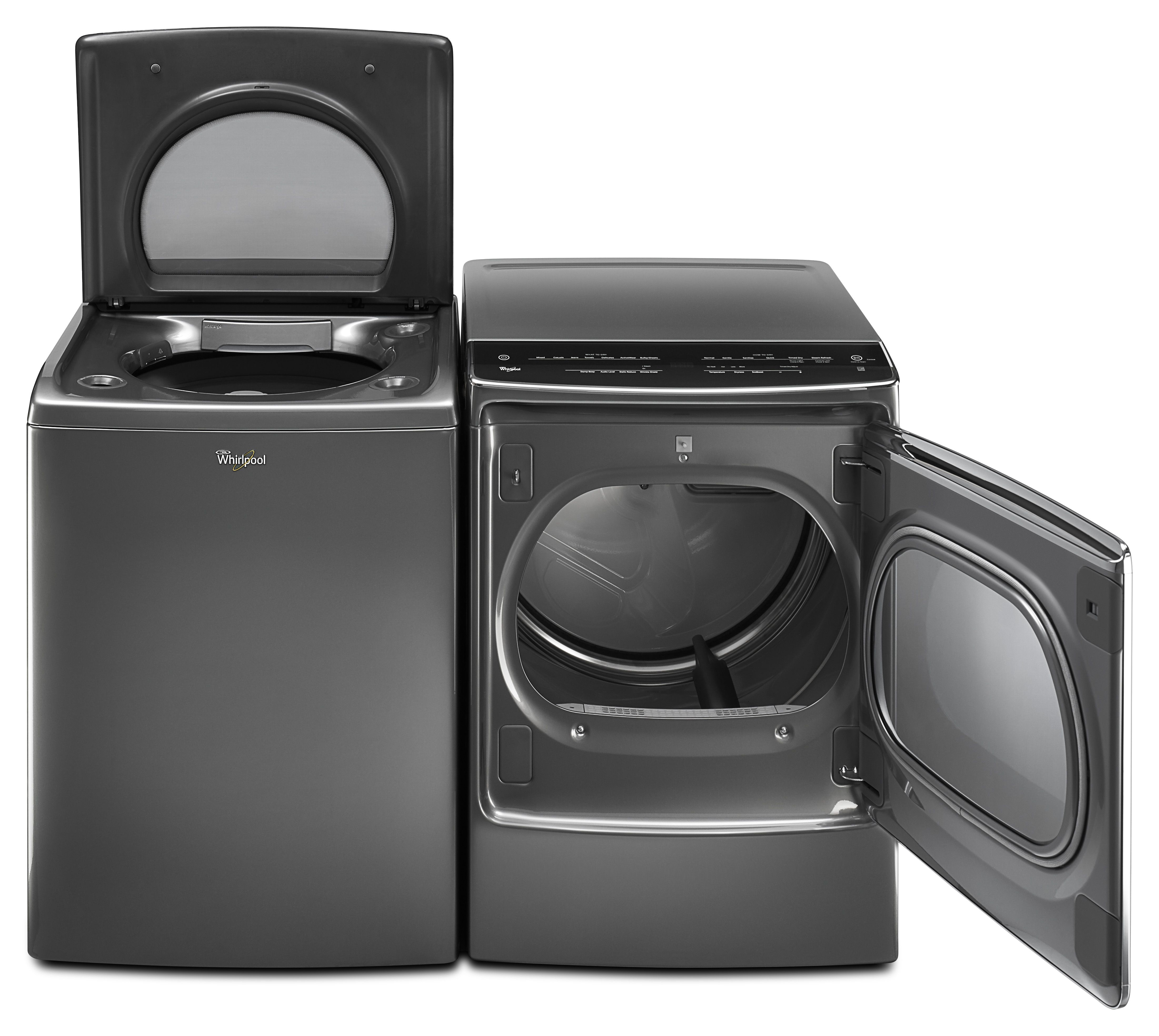 Good Lessen your laundry load with Whirlpool us massive washer