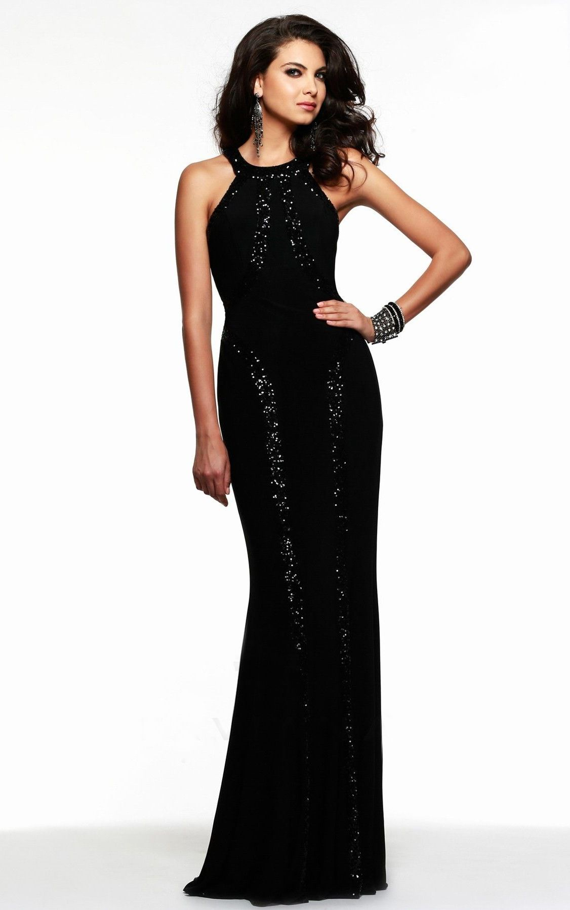 Pictures gece elbise modelleri 2013 uzun dekolteli gece elbise modeli - Siyah Uzun Abiye Modelleri Gece Elbiseleri 17