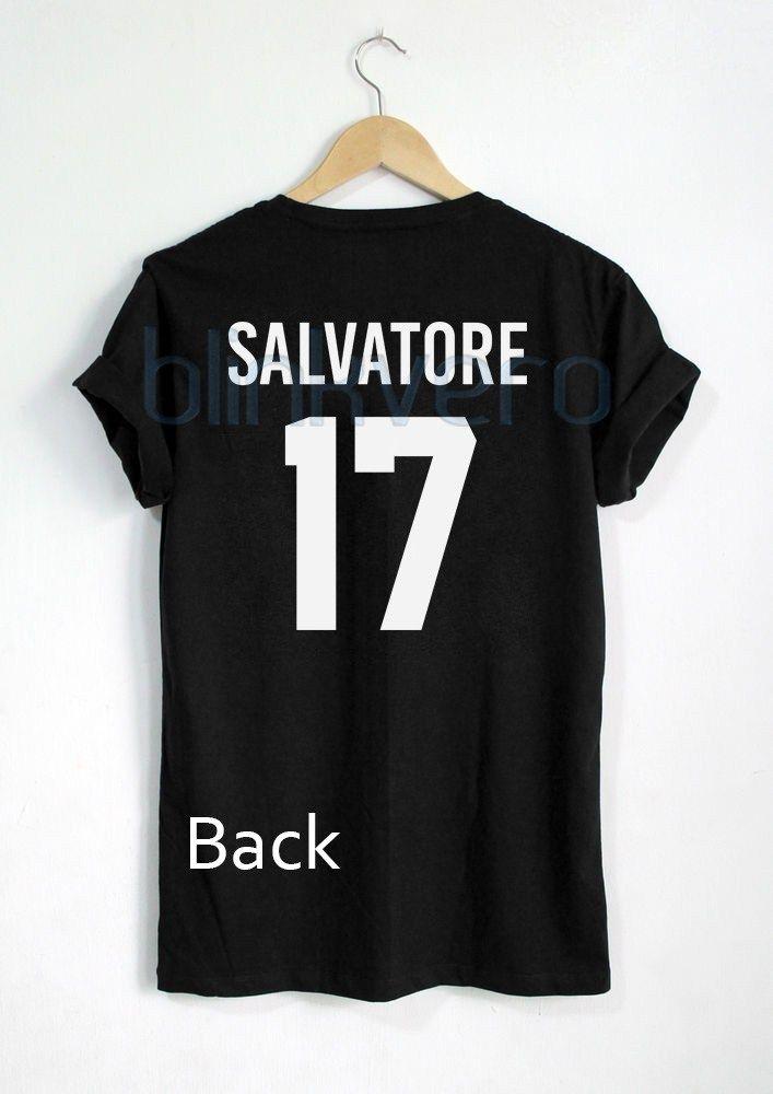 Salvatore 17 Mystic Falls The Vampire Diaries Awesome Tshirt Tanktop Sweatshirt Hoodie Unisex Vampire Diaries Shirts Vampire Diaries Outfits Vampire Diaries