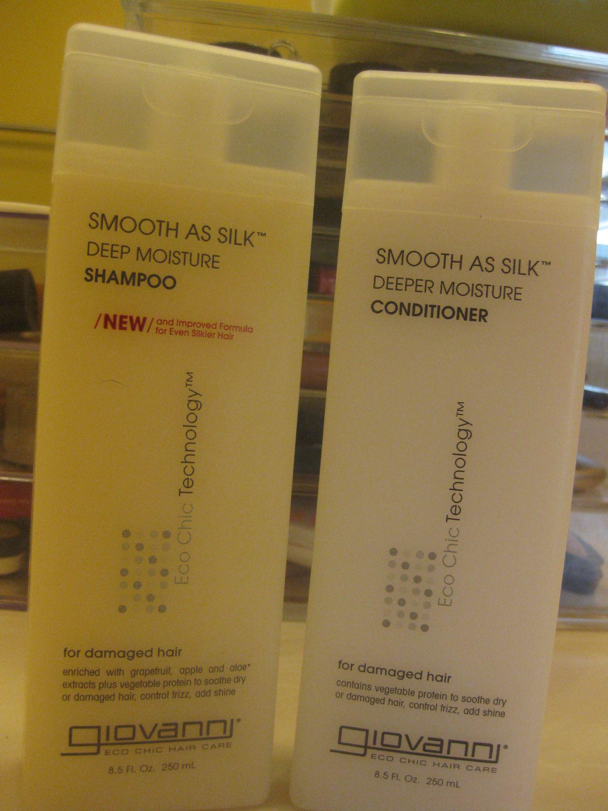 Giovanni product review shampoo conditioner shampoo