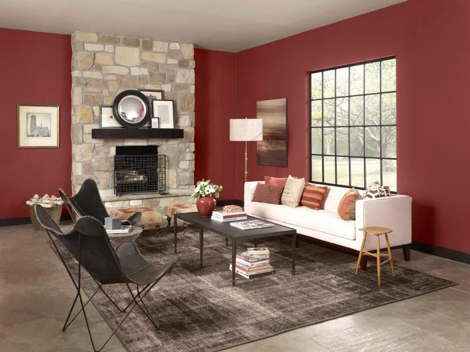 warms living rooms paint color cinnabar csp 1165 benjamin moore living room living room. Black Bedroom Furniture Sets. Home Design Ideas