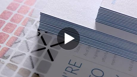 Luxe Postcards Design And Print Premium Postcards Mini Business Card Printing Business Cards New Business Ideas