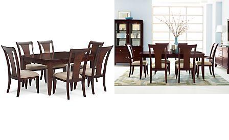 Metropolitan Counter Height 5-Piece Dining Set, Espresso ...
