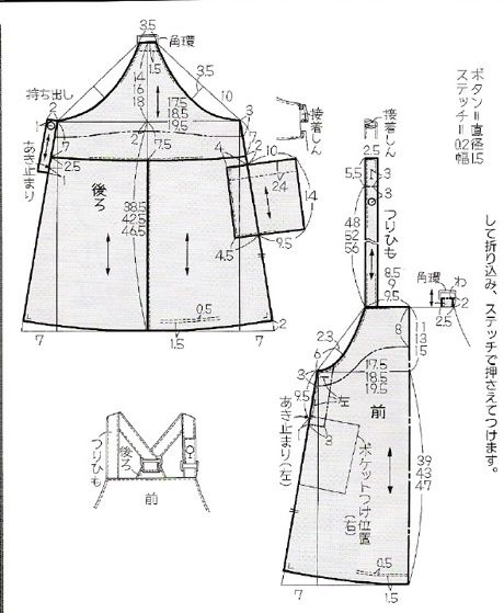 download.php (460×559) | Skirt | Pinterest | Apron, Patterns and ...