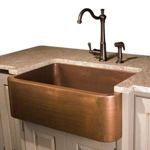 Pros And Cons Of Copper Sinks With Images Farm Style Kitchen