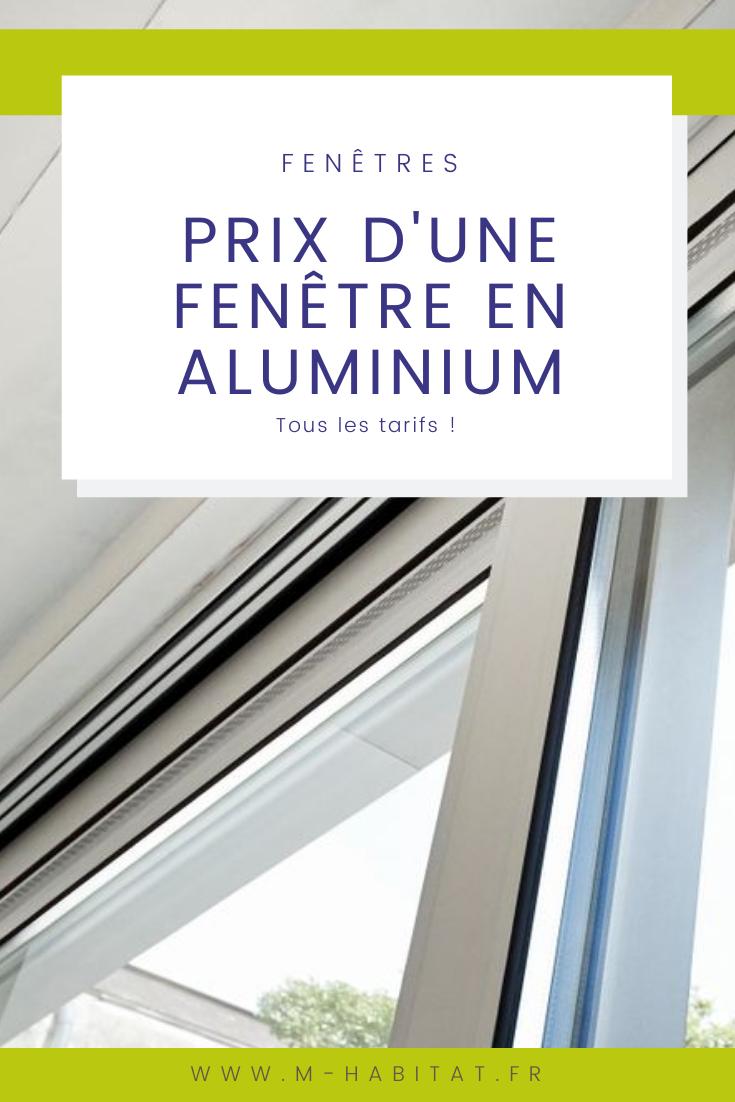 Prix D Une Fenetre En Aluminium Fenetres Aluminium Fenetre Prix Fenetre