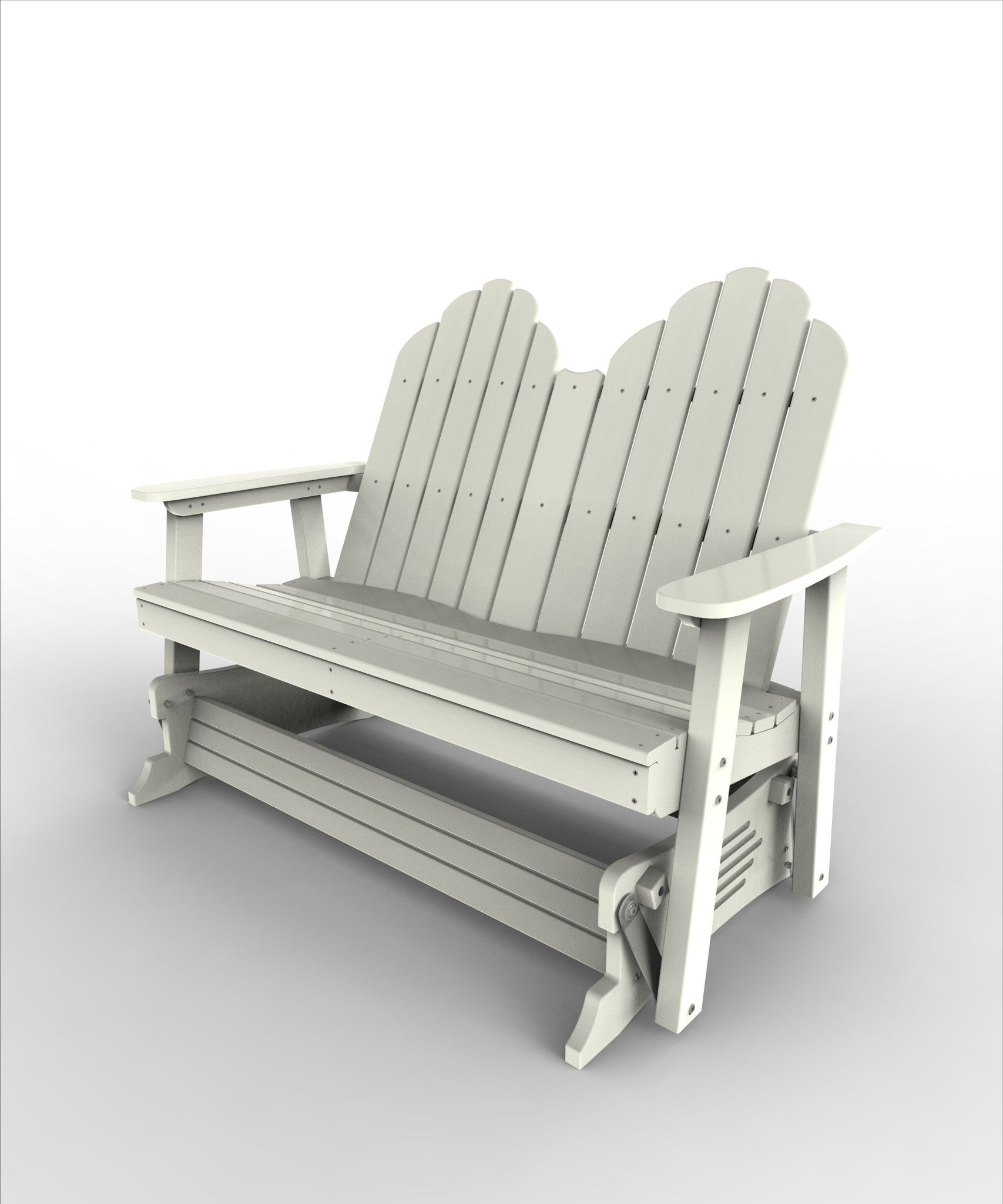 Malibu Outdoor Living Recycled Plastic Yarmouth Double Patio - Malibu outdoor furniture