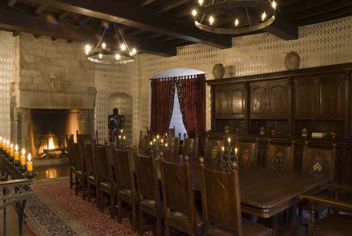 Main Dining Room On Second Level Meval Castle De