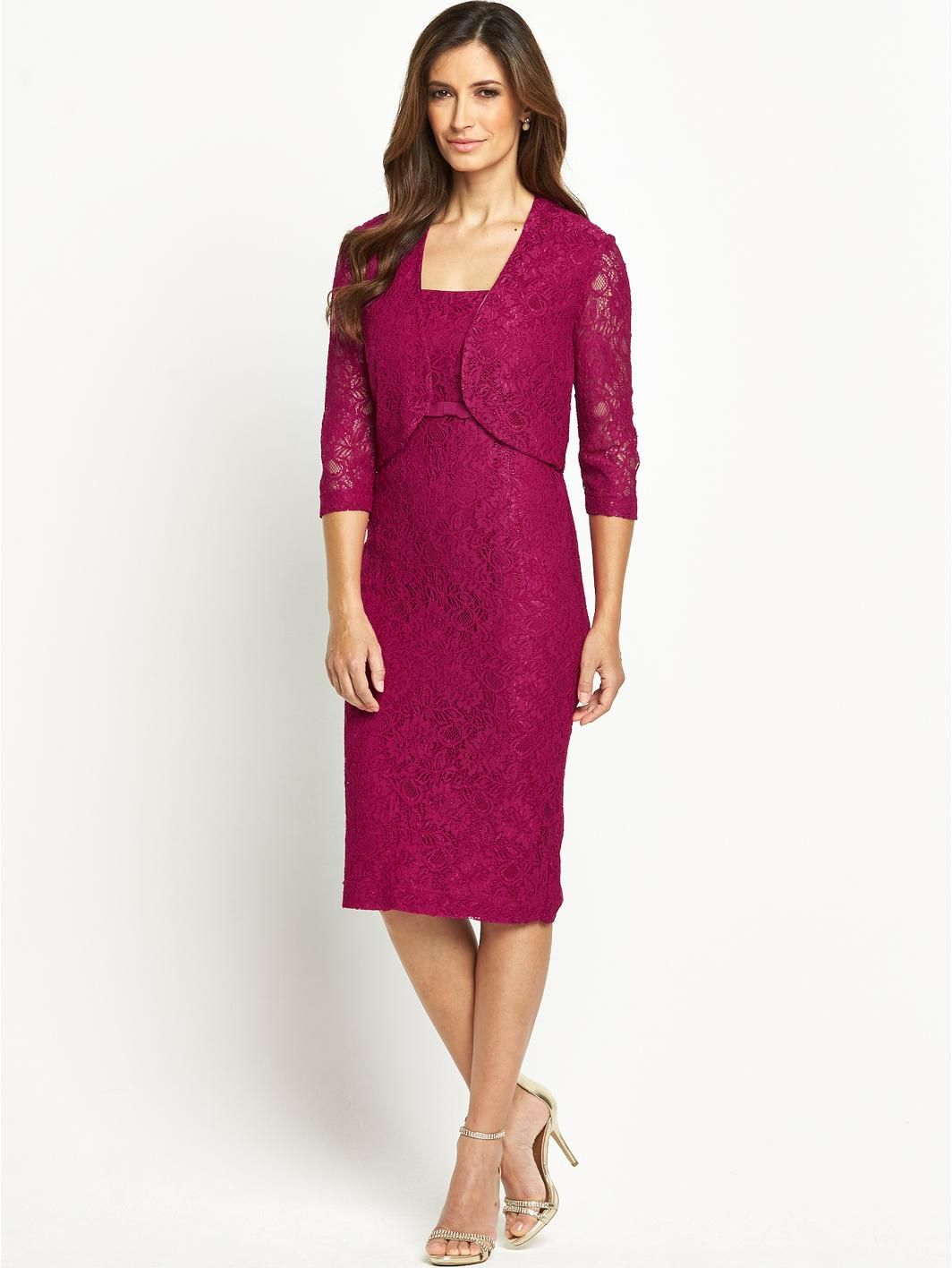 Lace Bodice Dress and Jacket Set, http://www.very.co.uk/berkertex ...