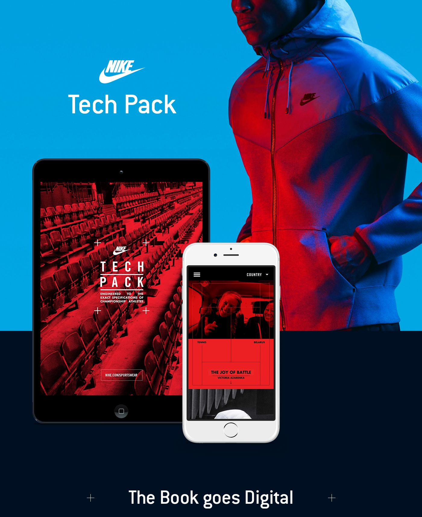 Nike Tech Pack on Behance