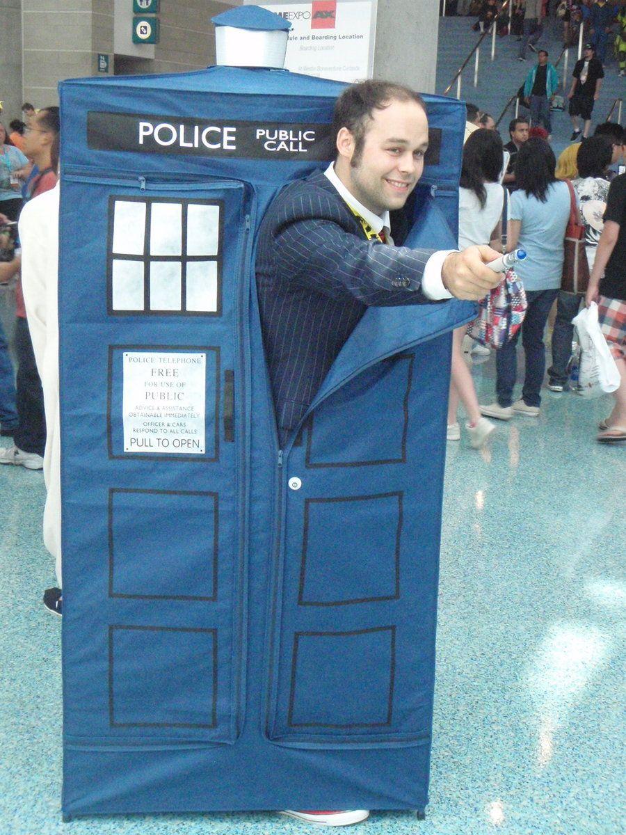 doctor who and tardis cosplayerstormx6.deviantart #cosplay