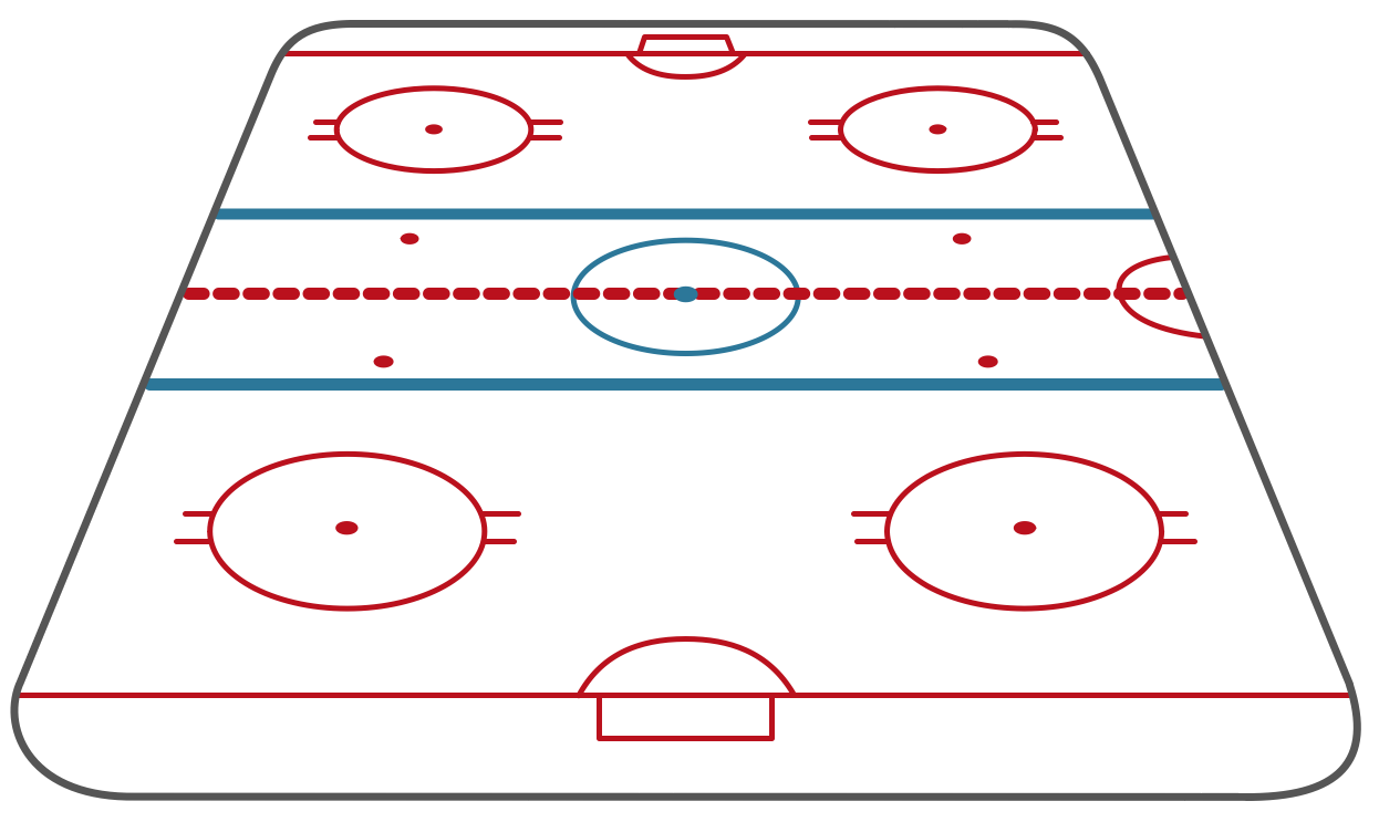 Ice Hockey Rink Short Side View Ice Hockey Rink Ice Hockey Hockey
