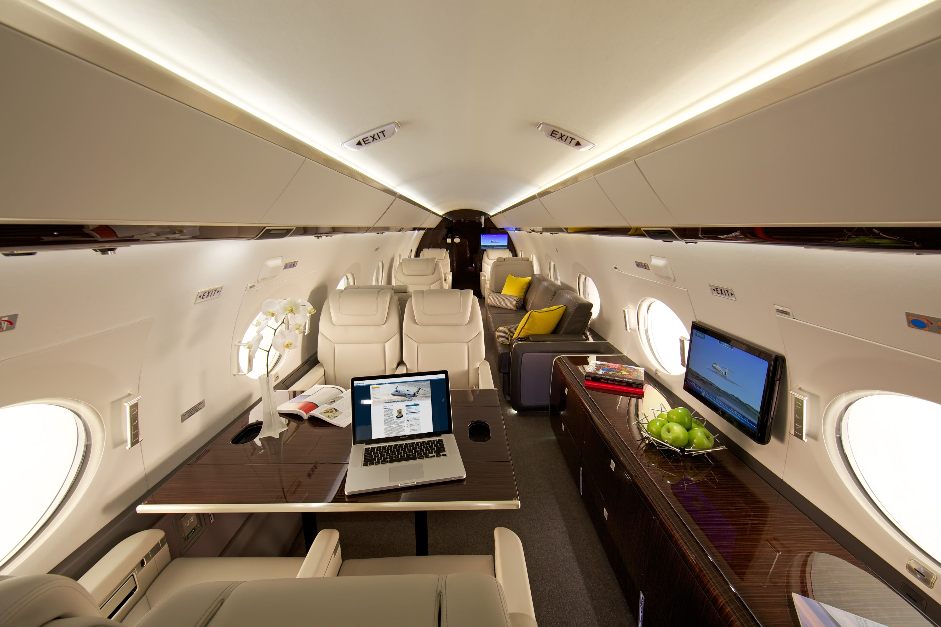 the gulfstream g650 for sale is a twin engine business jet airplane produced by gulfstream