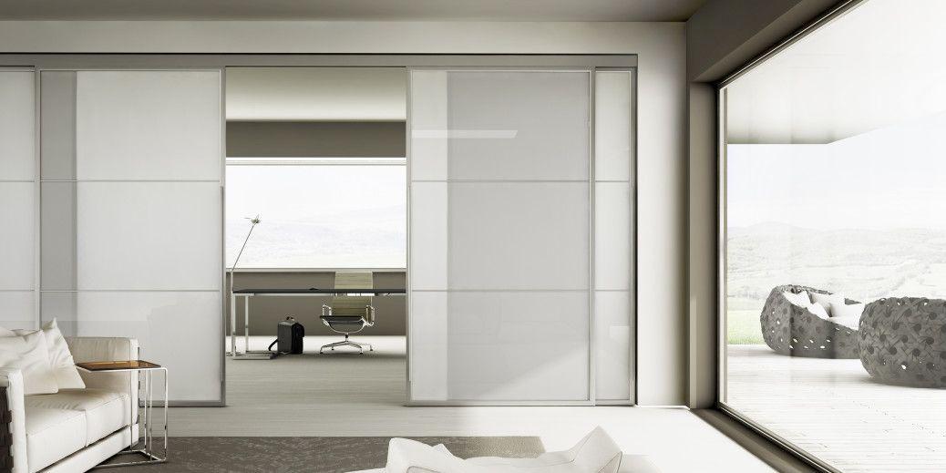 Porte scorrevoli su binario economiche personalizzabili porta cucina pinterest altre - Porte scorrevoli da esterno ...