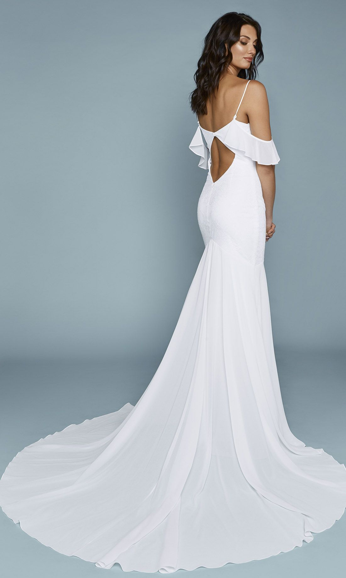 Tulum Chantilly Gown | Chantilly lace, Gowns and Wedding dress