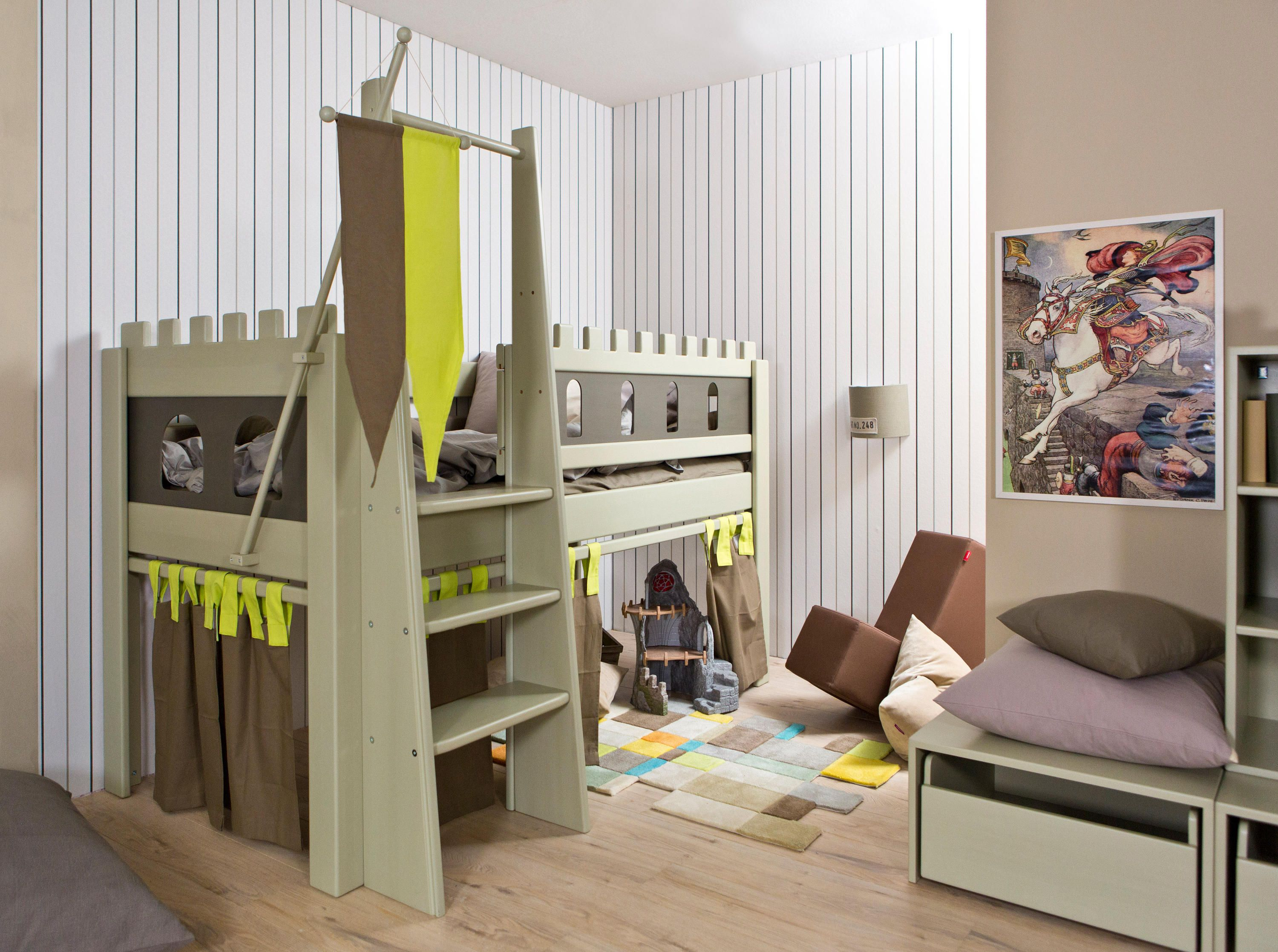 Boys Castle Bed