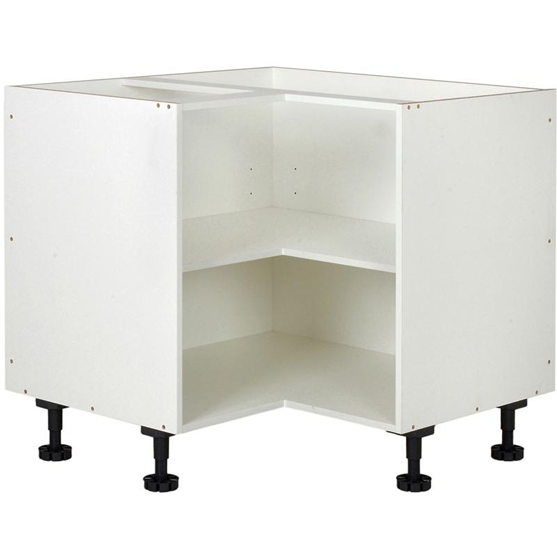 Kaboodle Kitset 900x900mm Base Corner White Bunnings