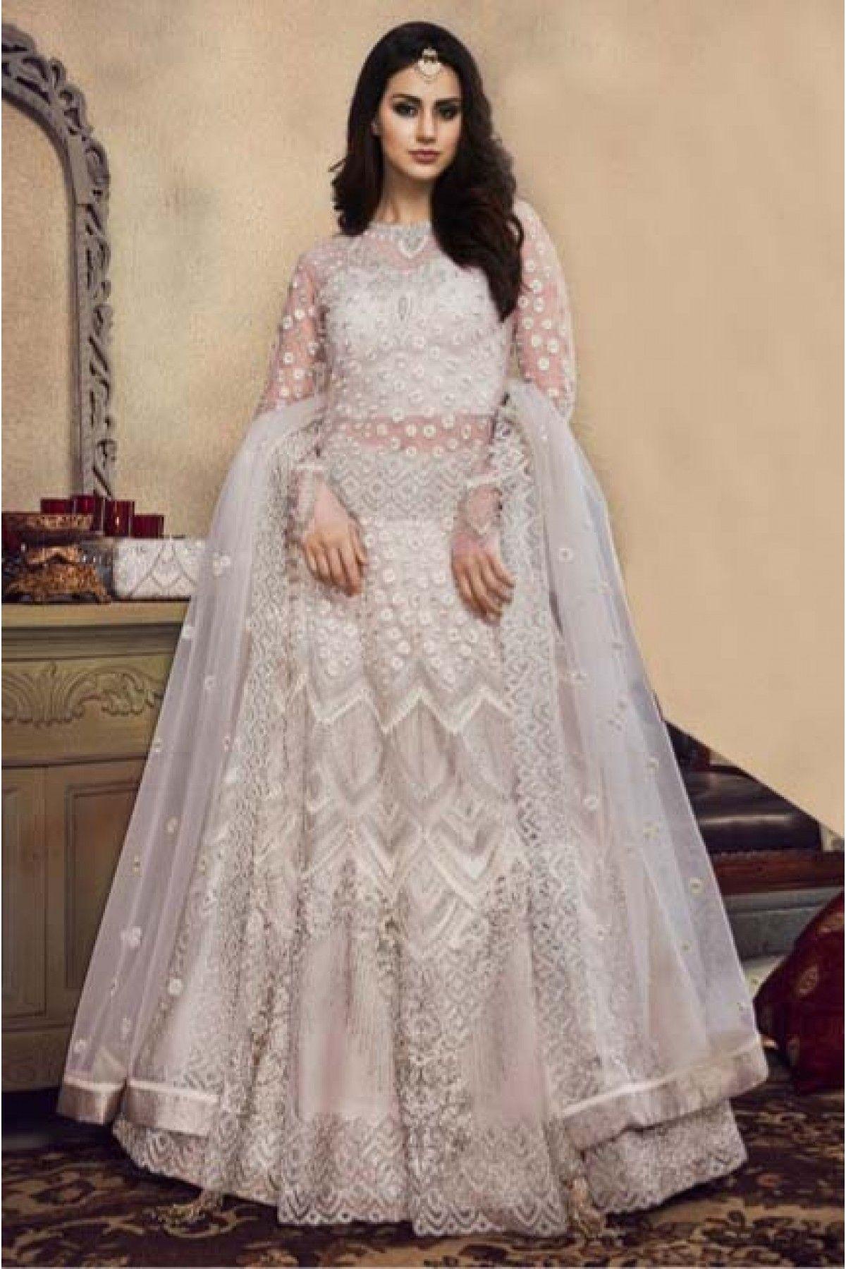 Ivory Dress Net Fabric