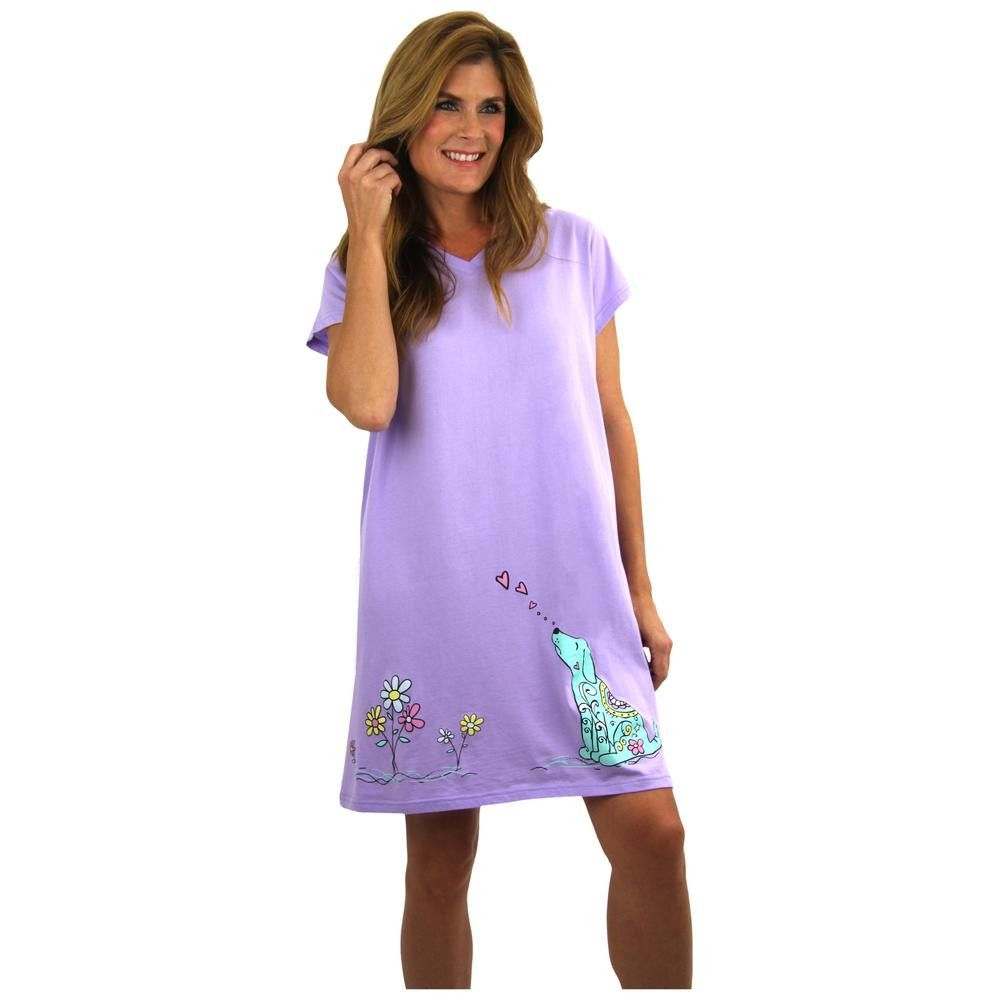 9820f318c7 Smell the Flowers Dog Cat Nightshirt – GreaterGood