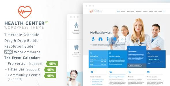 ThemeForest - Health Medical Care -Theme for Medical Health and ...