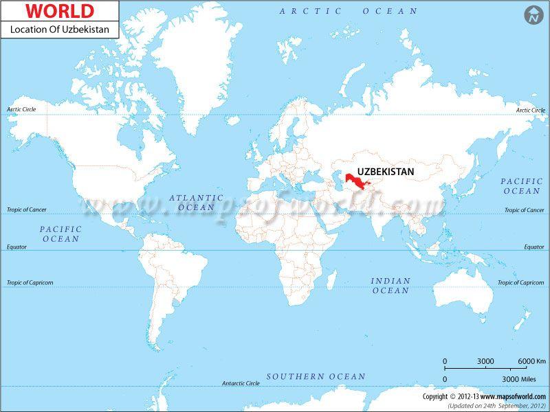 Uzbekistan Location Map Geography Pinterest Location map Wifi