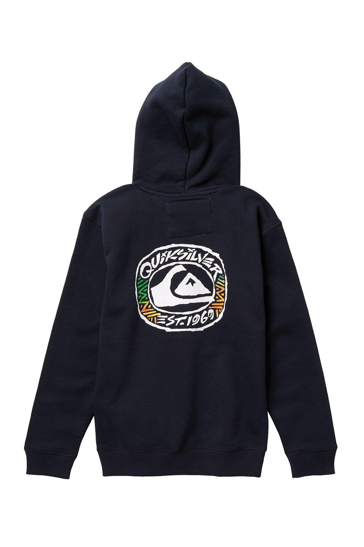 Quiksilver Boys Big Logo Hoodie