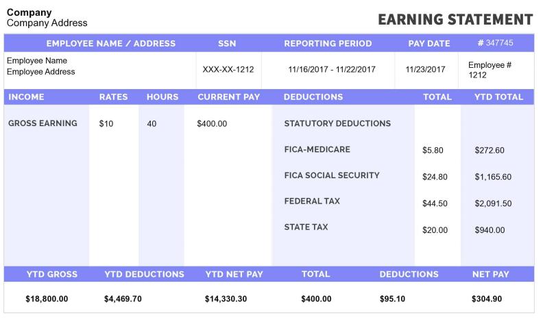 Free Paystub Generator Online Payroll Template Payroll Checks Payroll Software