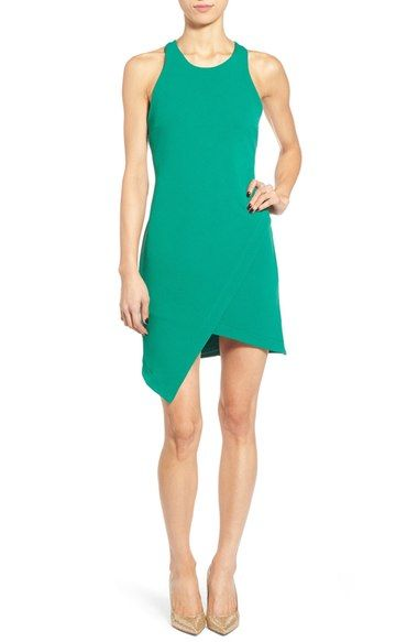 336cb993ee Leith Stretch Crepe Tank Dress available at  Nordstrom