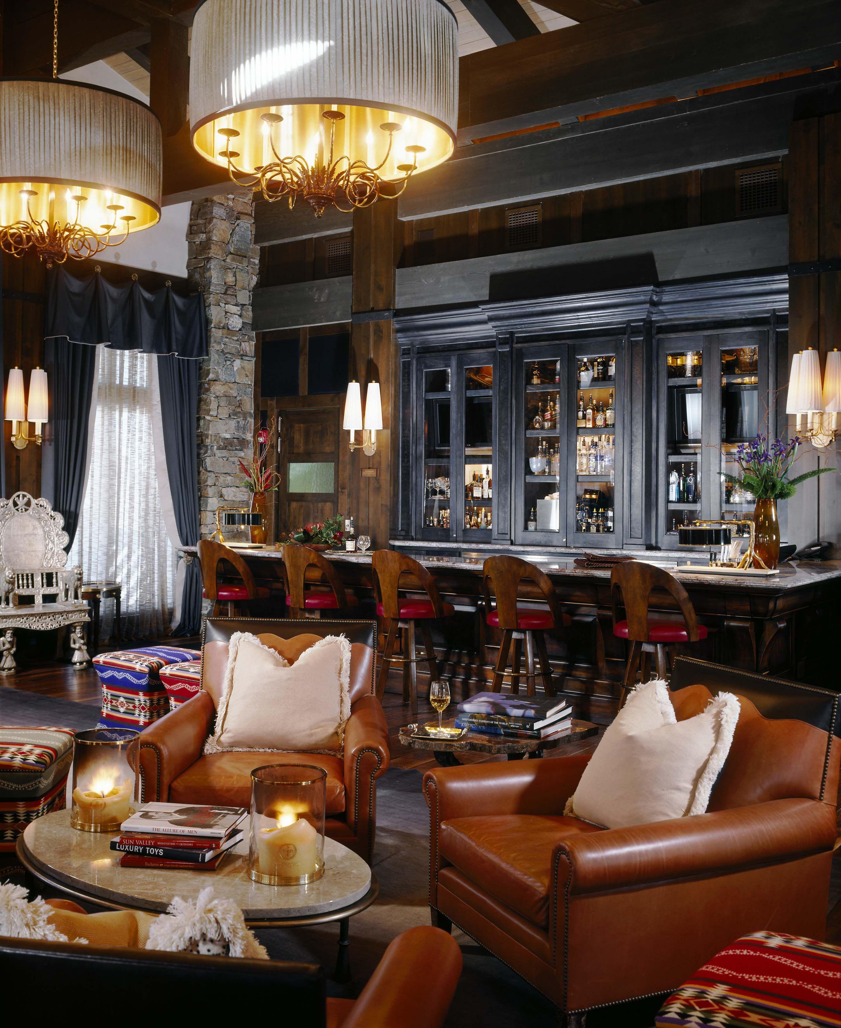 Bon Bar In Park City, UT Designed By Denton House Design Studio