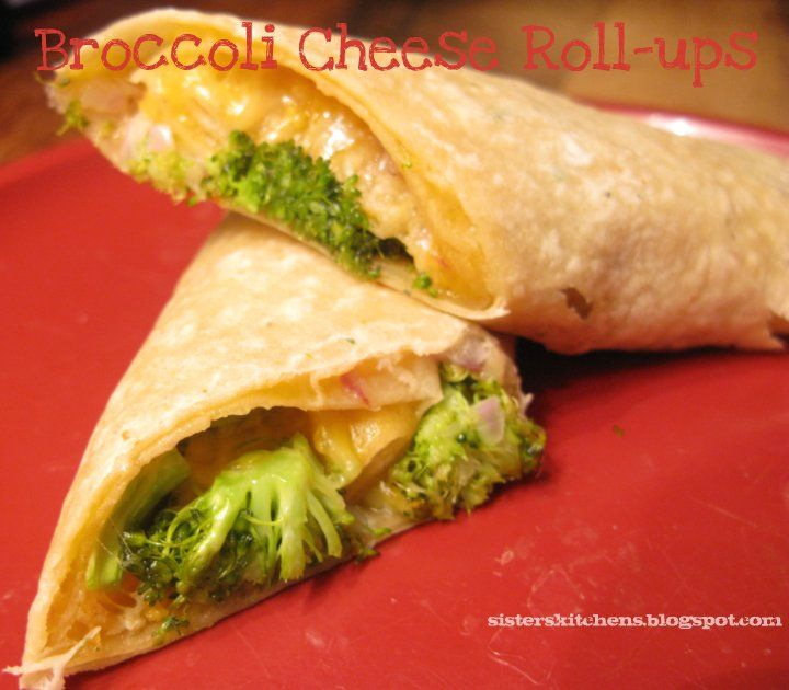 Broccoli Cheese Roll-ups | Tale of Two Sisters & Their Kitchens