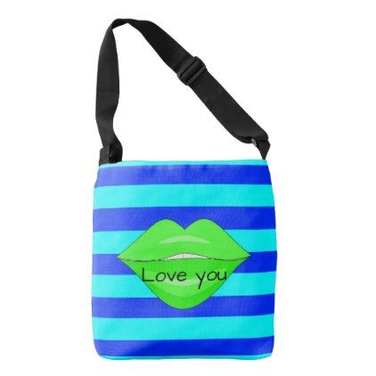 #trendy - #Green kiss tote bag