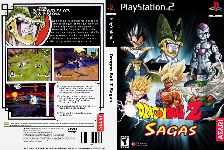 Dragonball Z Sagas Gameplay Playstation 2 Ps2 Play Video Games