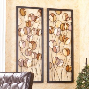 Rosita 2-pc. Metal Wall Decor Panel Set | Living Room | Pinterest ...