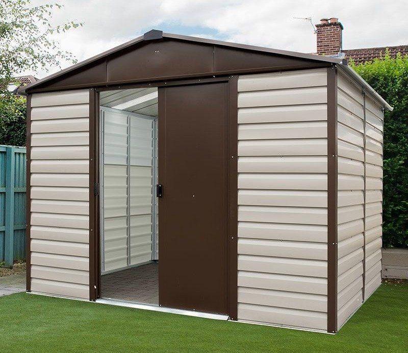Yardmaster 10x6 Shiplap Metal Shed Metal Shed Building A Shed Shed