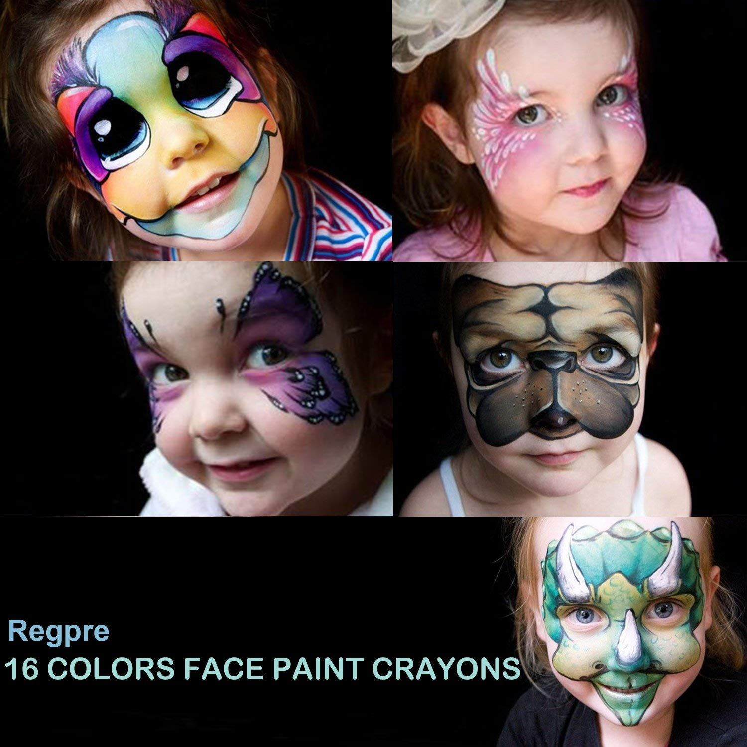 Scary Halloween Makeup Ideas Non Toxic Crayons Washable