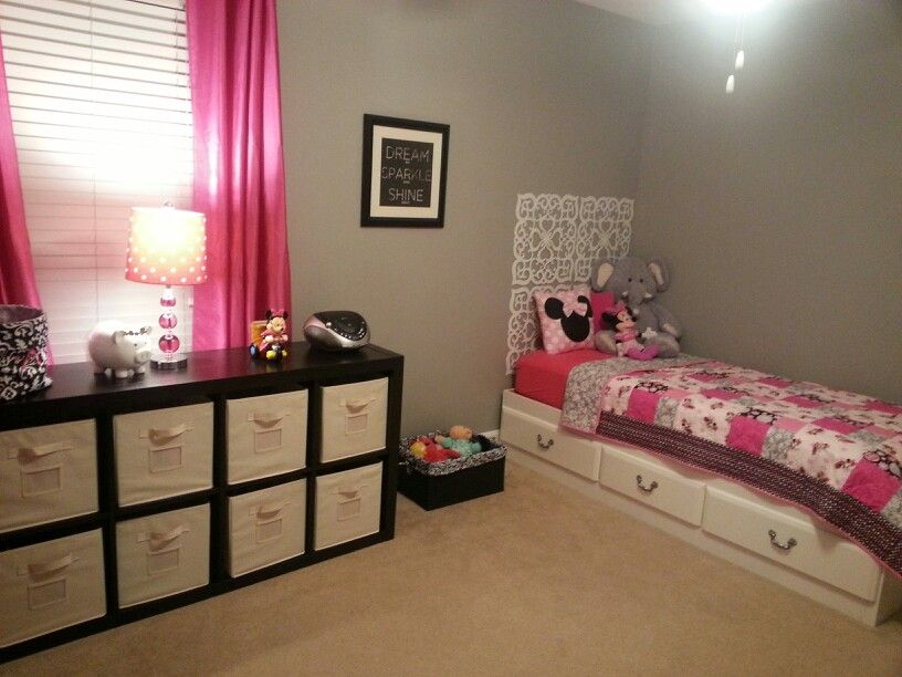 Minnie Mouse Room And Decor Girl Bedroom Decor Toddler Room