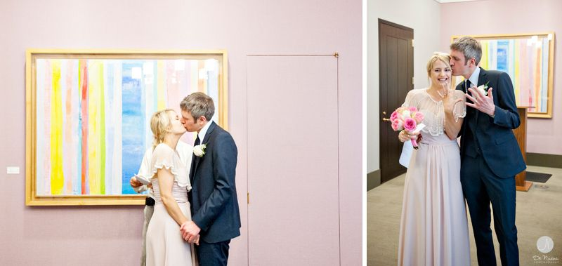 Laura And Paul Nyc Courthouse Wedding Manhattan Marriage Bureau