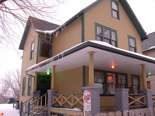 The House From The Beloved Classic Movie A Christmas Story 1983 Address 3159 W 11th Street Clevel Christmas Story House A Christmas Story Story House