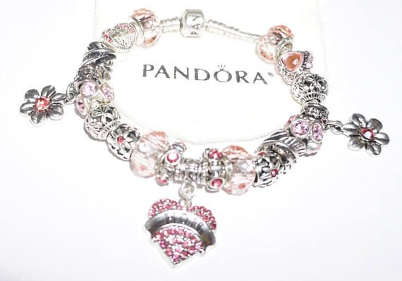 Pretty In Pink Mom Authentic Jared Pandora Bracelet Authentic