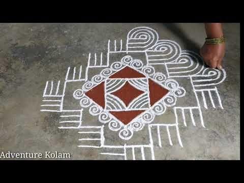 Navaratri special Padi Kolam    Pulli Kolam    Ran