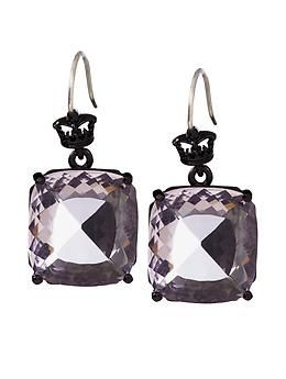 Juicy Couture Oversized Cushion Cut Drop Earring | Piperlime