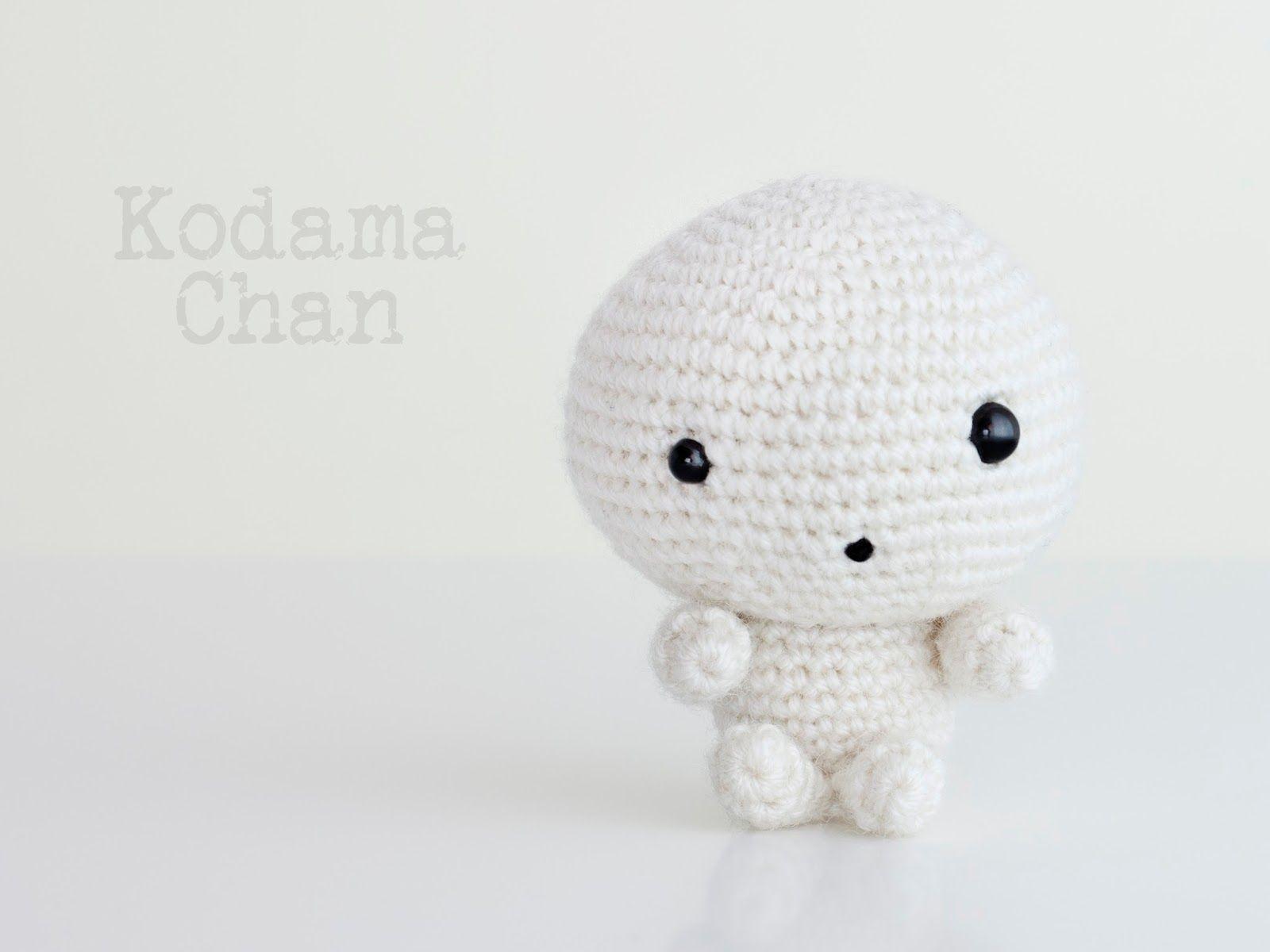 Amigurumi Kodama Chan - FREE Crochet Pattern / Tutorial | Amigurumis ...