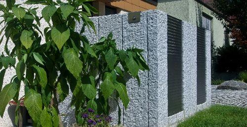 Sichtschutz und Mauern Sichtschutz \ Mauern Daniel Maier Garten - garten sichtschutz mauer