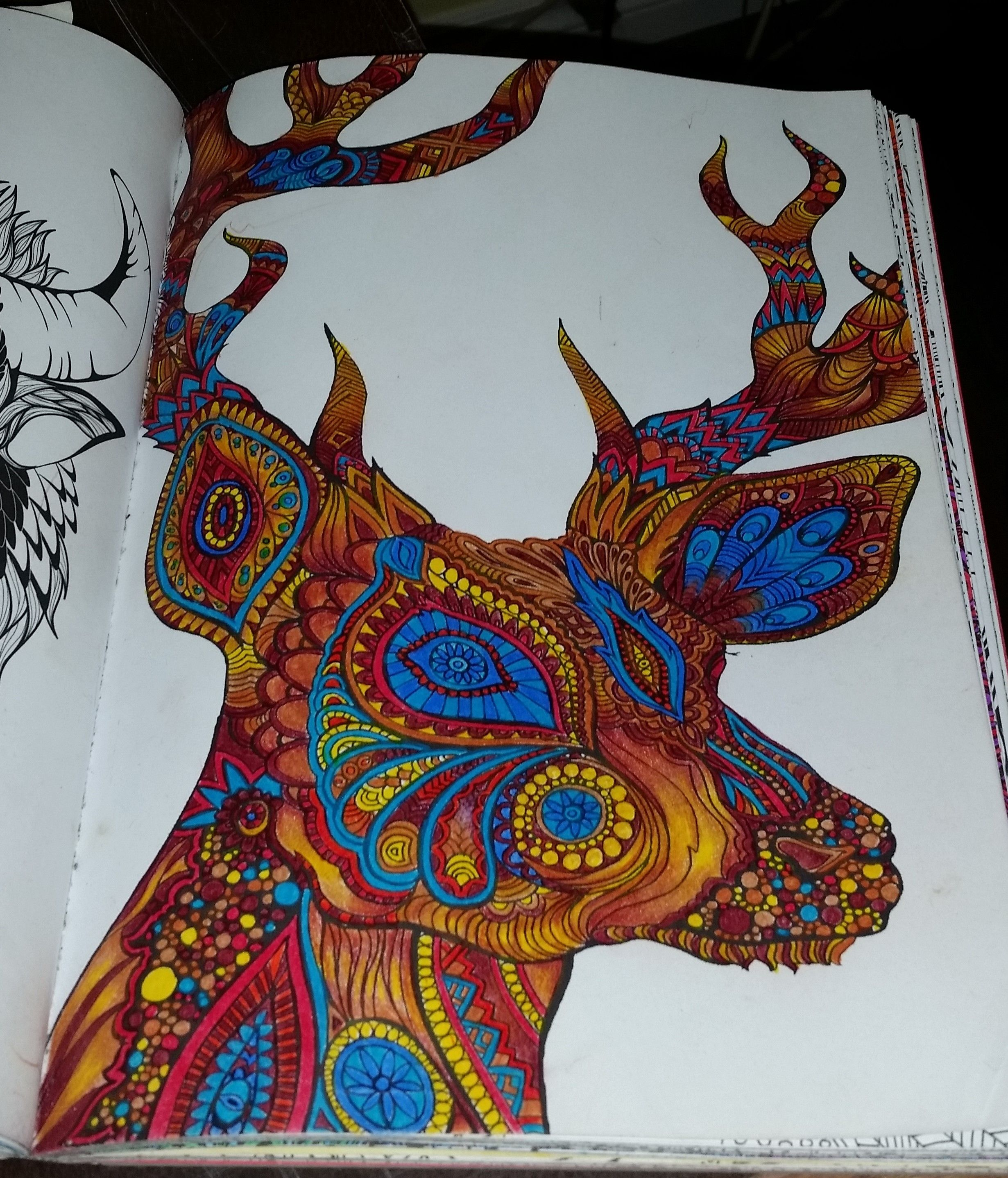 coloriage anti stress bestiaire